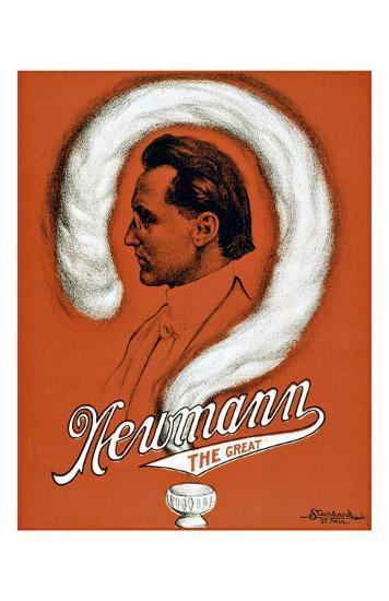 Newmann the Great Magician--Giclee Print