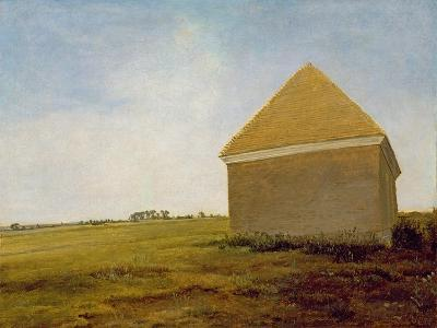 Newmarket Heath, with a Rubbing-Down House, c.1765 (Post-Restoration)-George Stubbs-Giclee Print