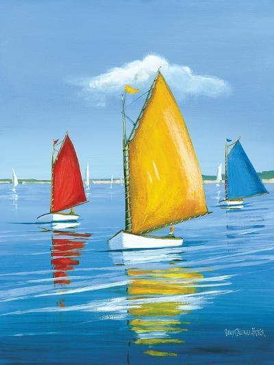 Newport Regatta-Sally Caldwell Fisher-Art Print