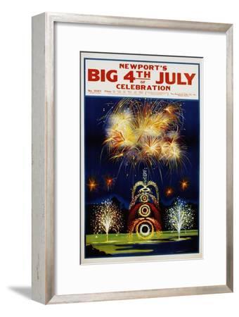 Newport's Big 4th of July Celebration Poster