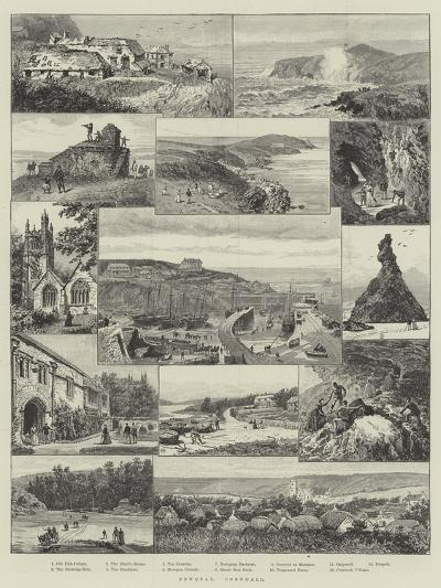 Newquay, Cornwall--Giclee Print