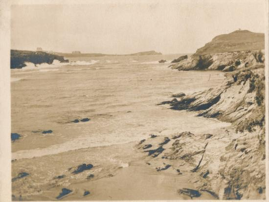 'Newquay from Porth', 1927-Unknown-Photographic Print