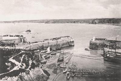 Newquay Harbour, Newquay, Cornwall, 1908--Giclee Print