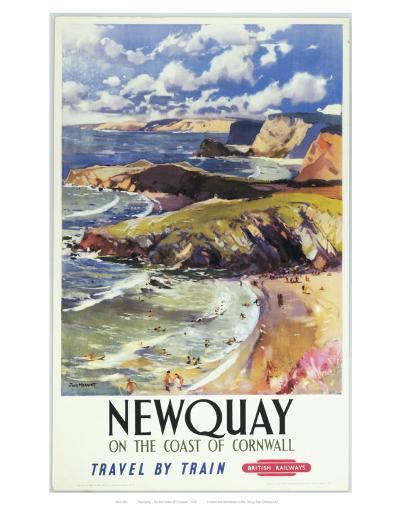 Newquay--Art Print