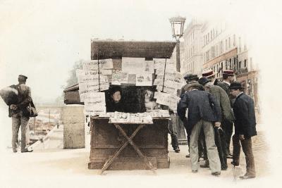 Newspaper Seller, 1914--Giclee Print