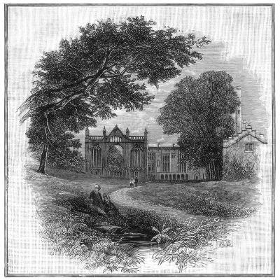 Newstead Abbey, the Ancestral Home of Lord Byron, 1888--Giclee Print