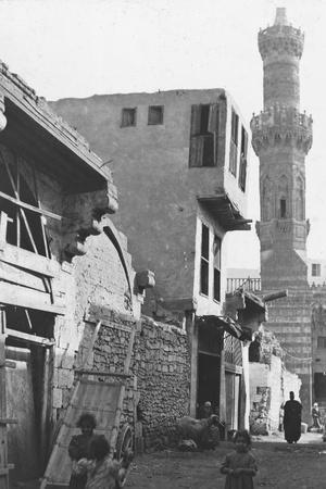 A Street in Cairo, Egypt, C1890