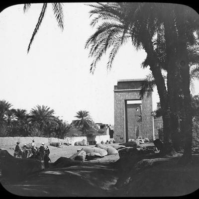 Avenue of Sphinxes, Karnak, Egypt, C1890