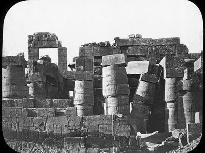 Great Temple, Karnak, Egypt, C1890