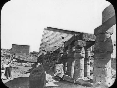 Great Temple, Luxor, Egypt, C1890