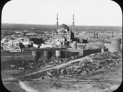 The Saladin Citadel of Cairo, Egypt, C1890