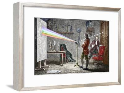 Newton's Optics-Sheila Terry-Framed Photographic Print