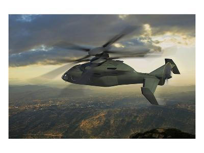 next generation Sikorsky helicopter--Art Print