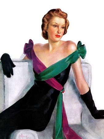 """""""Evening Gown,""""May 21, 1938"""