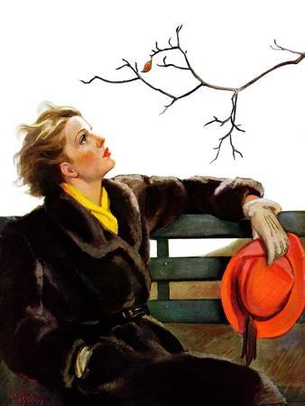 """""""Fall in the Park,""""December 3, 1938"""