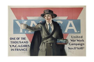 Ymca United War Work Campaign Poster