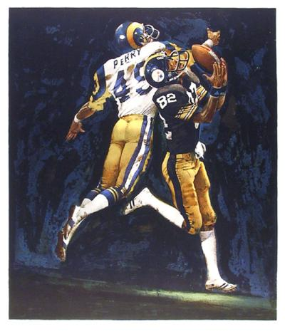 NFL Superbowl XIV-Merv Corning-Limited Edition