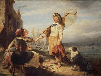 NG 982 Fisher Folk-William Kidd-Giclee Print
