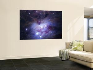 NGC 1977 is a Reflection Nebula Northeast of the Orion Nebula