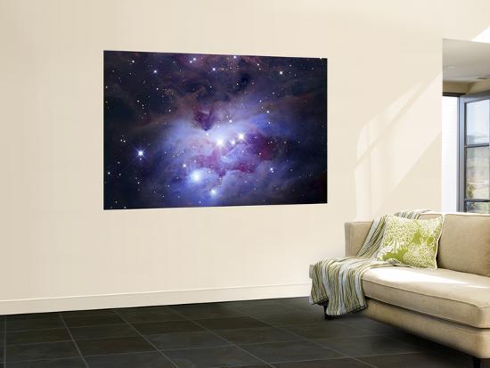 NGC 1977 is a Reflection Nebula Northeast of the Orion Nebula--Giant Art Print