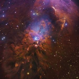 Ngc 1999, Bright Reflection Nebula in Orion