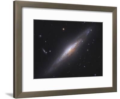 Ngc 2683, Spiral Galaxy in Lynx