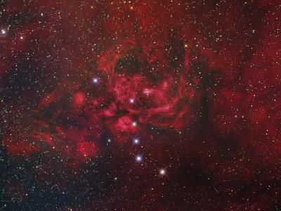 Ngc 6357, the Lobster Nebula in Scorpius-Stocktrek Images-Photographic Print