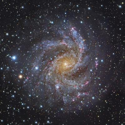 NGC 6946, a Spiral Galaxy in Cepheus-Stocktrek Images-Photographic Print