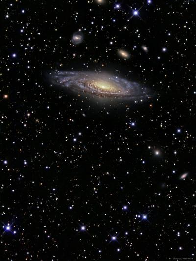 NGC 7331 is a Spiral Galaxy in the Constellation Pegasus-Stocktrek Images-Photographic Print