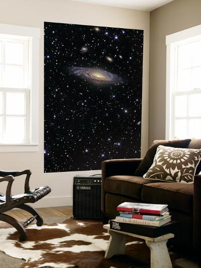NGC 7331 is a Spiral Galaxy in the Constellation Pegasus--Giant Art Print