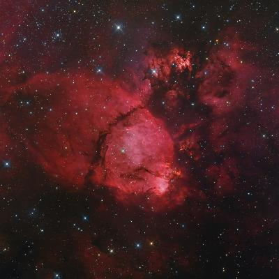 Ngc 896 in the Heart Nebula in Cassiopeia--Photographic Print