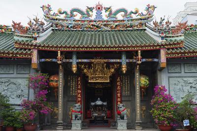 Nghia an Hoi Quan Pagoda, Cholon, Ho Chi Minh City (Saigon), Vietnam, Indochina, Southeast Asia-Christian Kober-Photographic Print