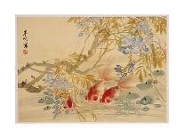 Goldfish-Ni Tian-Mounted Premium Giclee Print
