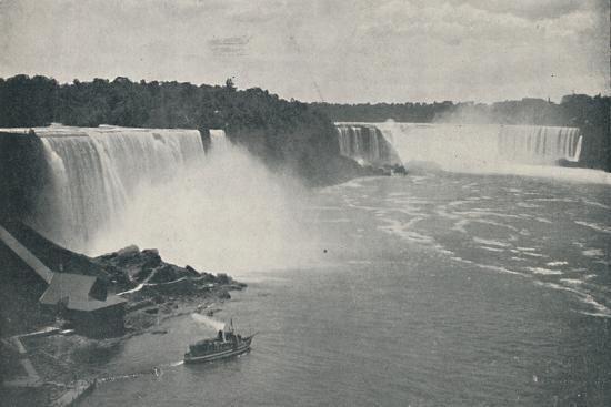 'Niagara Falls', 1916-Unknown-Photographic Print