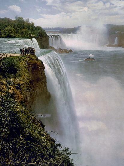 Niagara Falls from Prospect Point--Photo
