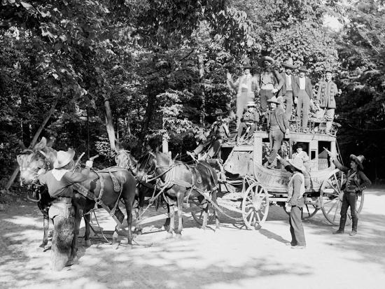 Niagara Falls, June 23D, 1898, Pawnee Bills Wild West Co.--Photo