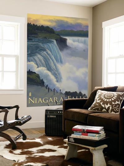 Niagara Falls, New York, c.2008-Lantern Press-Wall Mural