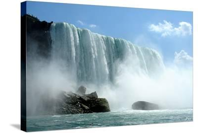 Niagara Falls on a Sunny Day--Stretched Canvas Print