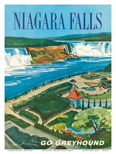 Niagara Falls, Ontario, Canada, New York, USA-S^ Fleming-Art Print