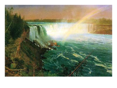 Niagara Falls-Albert Bierstadt-Art Print
