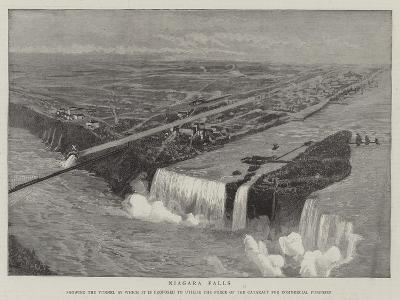 Niagara Falls--Giclee Print