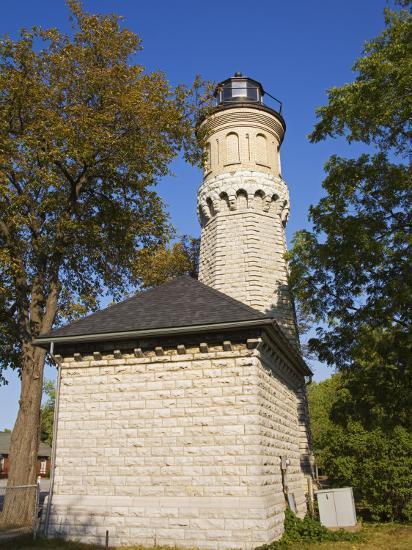 Niagara Lighthouse, Old Fort Niagara State Park, Youngstown, New York State, USA-Richard Cummins-Photographic Print