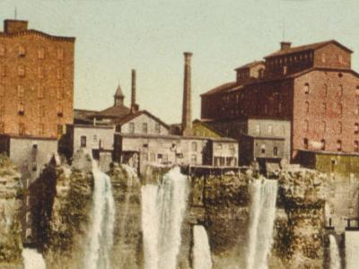 Niagara, Mills on American Shore--Photo