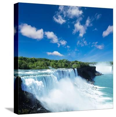 Niagara waterfall--Stretched Canvas Print