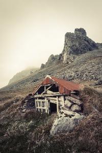 Abandoned Shelter Near Stokkness, Iceland, September 2015 by Niall Benvie