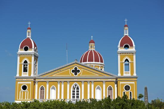 Nicaragua, Granada. the Cathedral of Granada.-Nick Laing-Photographic Print