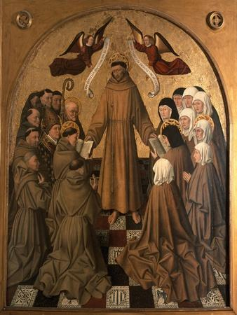 St. Francis Giving the Rule to His Disciples, Panel from the Pala Di Rocca