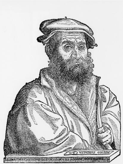 Niccolo Tartaglia, Italian Mathematician and Mechanician, 1550s--Giclee Print