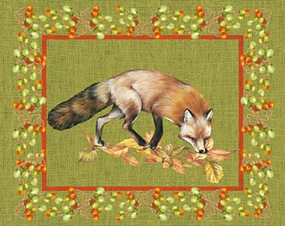 Nice Animals Fox--Art Print