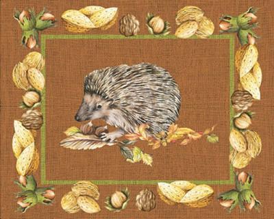 Nice Animals Hedgehog--Art Print